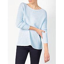 Buy John Lewis Rib Stitch Crew Neck Jumper Online at johnlewis.com