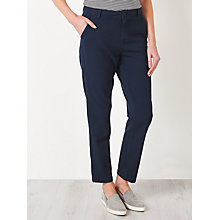 Buy Collection WEEKEND by John Lewis Cotton Twill Chinos, Navy Online at johnlewis.com