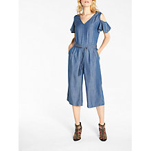 Buy AND/OR Florence Jumpsuit, Blue Online at johnlewis.com