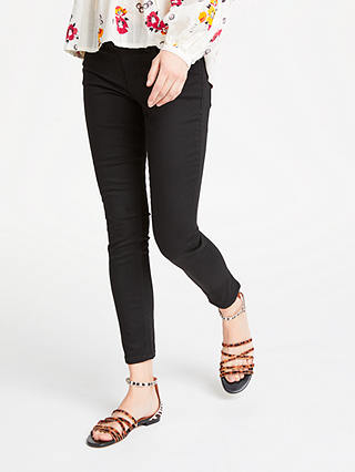 Buy AND/OR Avalon Ankle Grazer Jeans, Black, 26 Online at johnlewis.com