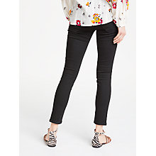 Buy AND/OR Avalon Ankle Grazer Jeans, Black Online at johnlewis.com