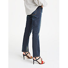 Buy AND/OR Silverlake Straight Leg Jeans, Deja Blue Online at johnlewis.com