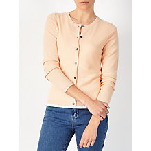 Buy John Lewis Cashmere Crew Neck Cardigan Online at johnlewis.com