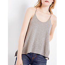 Buy AND/OR Racer Back Vest, Grey Online at johnlewis.com