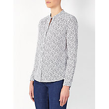 Buy Collection WEEKEND by John Lewis Mini Heart Print Shirt, White Online at johnlewis.com