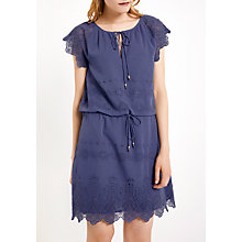 Buy AND/OR Stevie Dress, Mid Blue Online at johnlewis.com