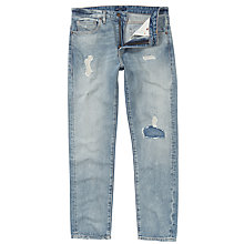 Buy Levi's Made & Crafted Shuttle Tapered Jeans, Light Blue 0086 Online at johnlewis.com