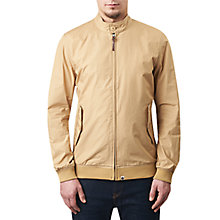 Buy Pretty Green Dalton Slim Fit Harrington Jacket, Khaki Online at johnlewis.com