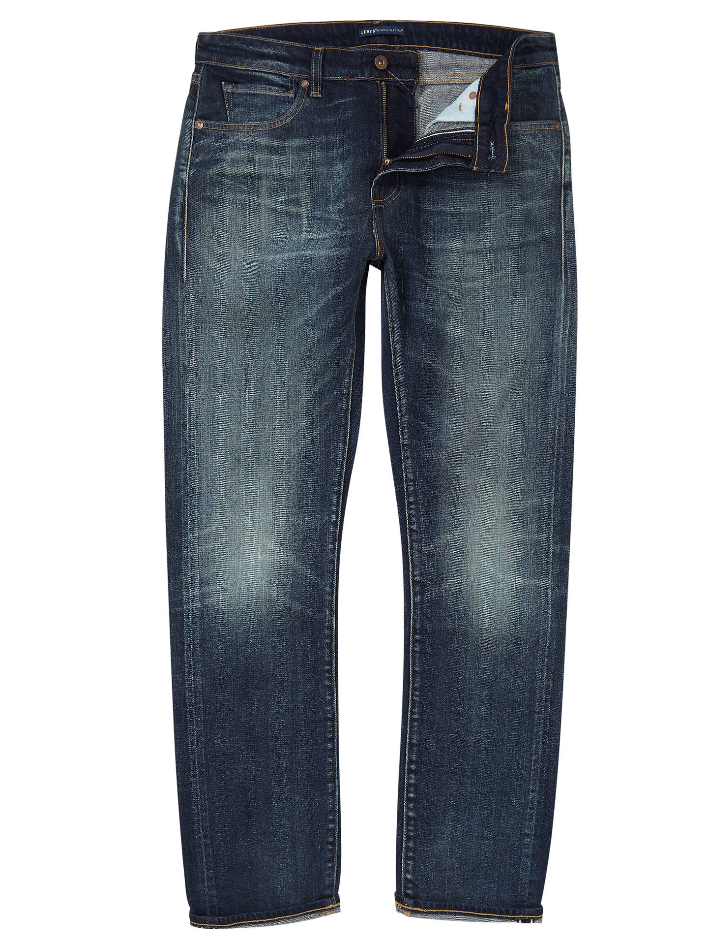33f4bffabf2 Buy Levi's Made & Crafted Tack Slim Selvedge Jeans, Maestra, 32R Online at  johnlewis ...