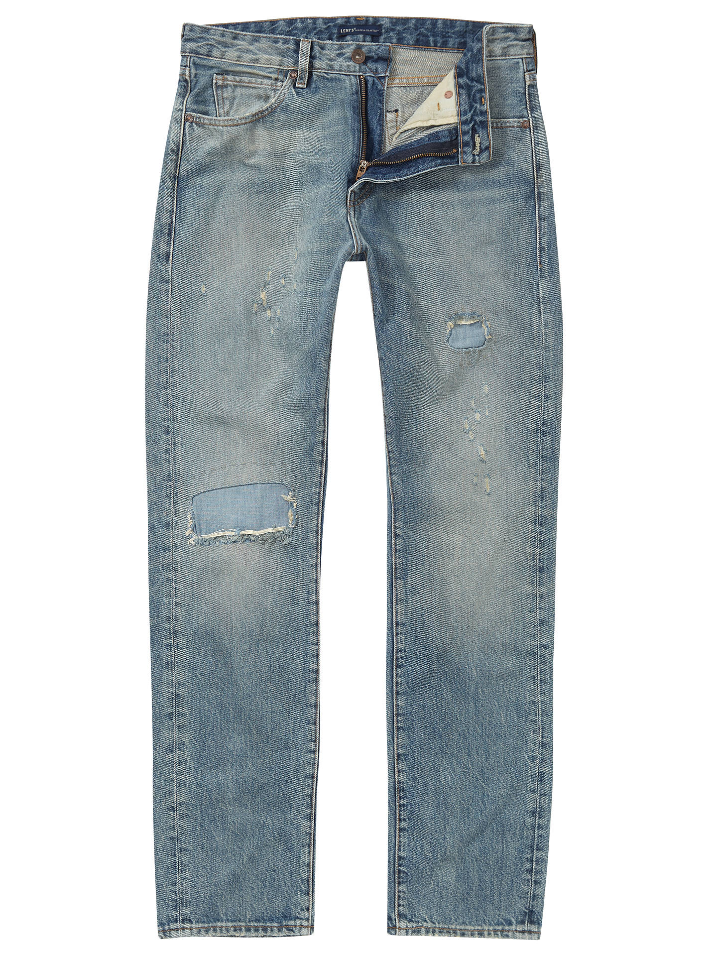 91e1d3f9192 Buy Levi's Made & Crafted Tack Slim Jeans, Light Blue 0267, 32R Online at  ...