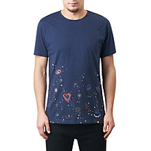 Buy Pretty Green Hilldrop Slim Fit Graphic T-Shirt Online at johnlewis.com