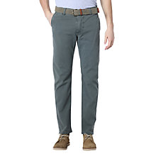 Buy Dockers Premium Washed Khaki Slim Tapered Chinos, Woodland Green Online at johnlewis.com