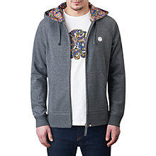Buy Pretty Green Raynham Paisley-Lined Hoodie Online at johnlewis.com