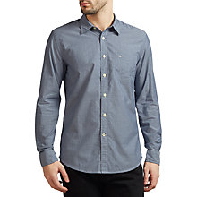 Buy Dockers Laundered Poplin Cotton Shirt, Huff Moonlit Ocean Online at johnlewis.com