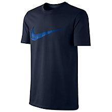 Buy Nike Sportswear Swoosh Cotton T-Shirt Online at johnlewis.com
