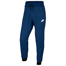 Buy Nike Sportswear Advance 15 Bottoms, Binary Blue/Heather Online at johnlewis.com