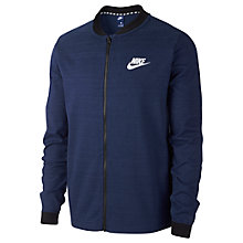 Buy Nike Sportswear Advance 15 Jacket, Blue Online at johnlewis.com