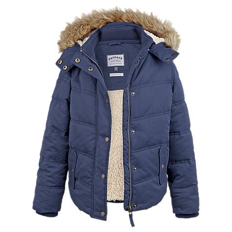 Blue Girls Coat