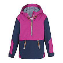 Buy Fat Face Girls' Dartmouth Popover Jacket, Berry Online at johnlewis.com