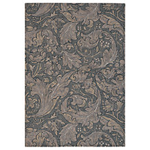 Buy Morris & Co Bachelors Button Rug, Brown Online at johnlewis.com