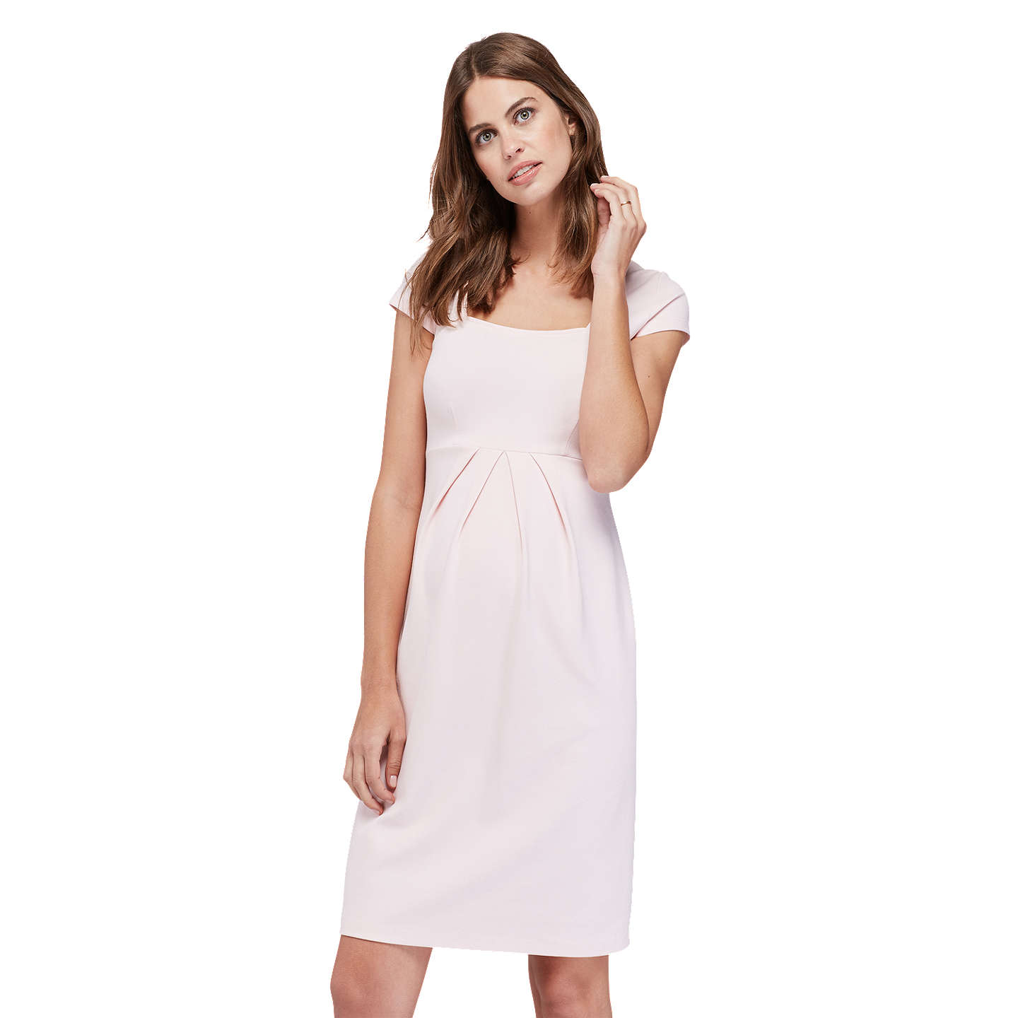 Isabella oliver farah shift maternity dress at john lewis buyisabella oliver farah shift maternity dress blush 8 online at johnlewis ombrellifo Image collections