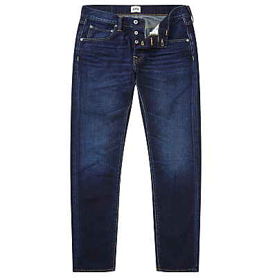 Edwin ED-55 Relaxed Tapered Jeans, Deep Blue Denim Coal Wash