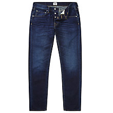Buy Edwin ED-55 Relaxed Tapered Jeans, Deep Blue Denim Coal Wash Online at johnlewis.com