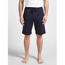Buy Sunspel Pima Cotton Lounge Shorts, Navy Online at johnlewis.com