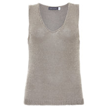 Buy Mint Velvet Metallic Sleeveless Knit Jumper Online at johnlewis.com