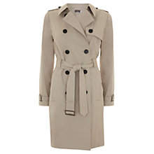 Buy Mint Velvet Classic Trench Coat, Stone Online at johnlewis.com