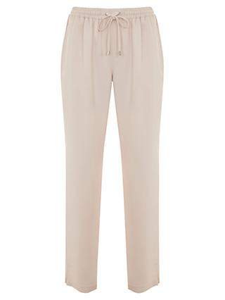 Mint Velvet Side Stripe Sports Trousers, Light Pink