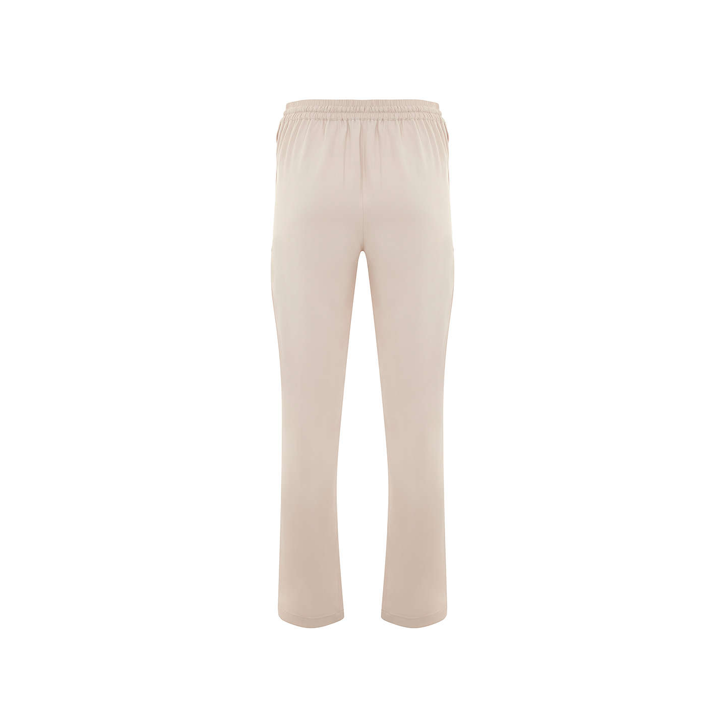 BuyMint Velvet Side Stripe Sports Trousers, Light Pink, 6 Online at johnlewis.com