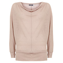 Buy Mint Velvet Shimmer Linen Batwing Top Online at johnlewis.com