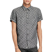 Buy Denim & Supply Ralph Lauren Star Cotton Chambray Shirt, Vault Star Online at johnlewis.com