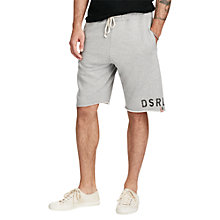 Buy Denim & Supply Ralph Lauren Cut-Off Shorts, Grey Online at johnlewis.com