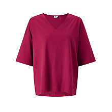 Buy Kin by John Lewis V-Neck Oversized T-Shirt Online at johnlewis.com