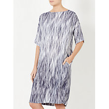 Buy Kin by John Lewis Fuji Print Dress, Navy Online at johnlewis.com