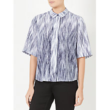 Buy Kin by John Lewis Fuji Print Shirt, Navy Online at johnlewis.com