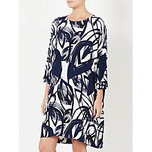 Buy Kin by John Lewis Naive Floral Pocket Dress, Navy Online at johnlewis.com
