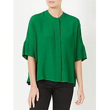 Buy Kin by John Lewis Oversized Shirt, Green Online at johnlewis.com