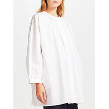 Buy Kin by John Lewis Smock Shirt, White Online at johnlewis.com