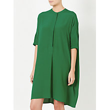 Buy Kin by John Lewis Plain Shirt Dress, Green Online at johnlewis.com