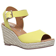 Buy Miss KG Paisley Wedge Heeled Sandals, Lime Online at johnlewis.com