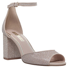 Buy Miss KG Gaze Block Heeled Sandals, Gold Online at johnlewis.com