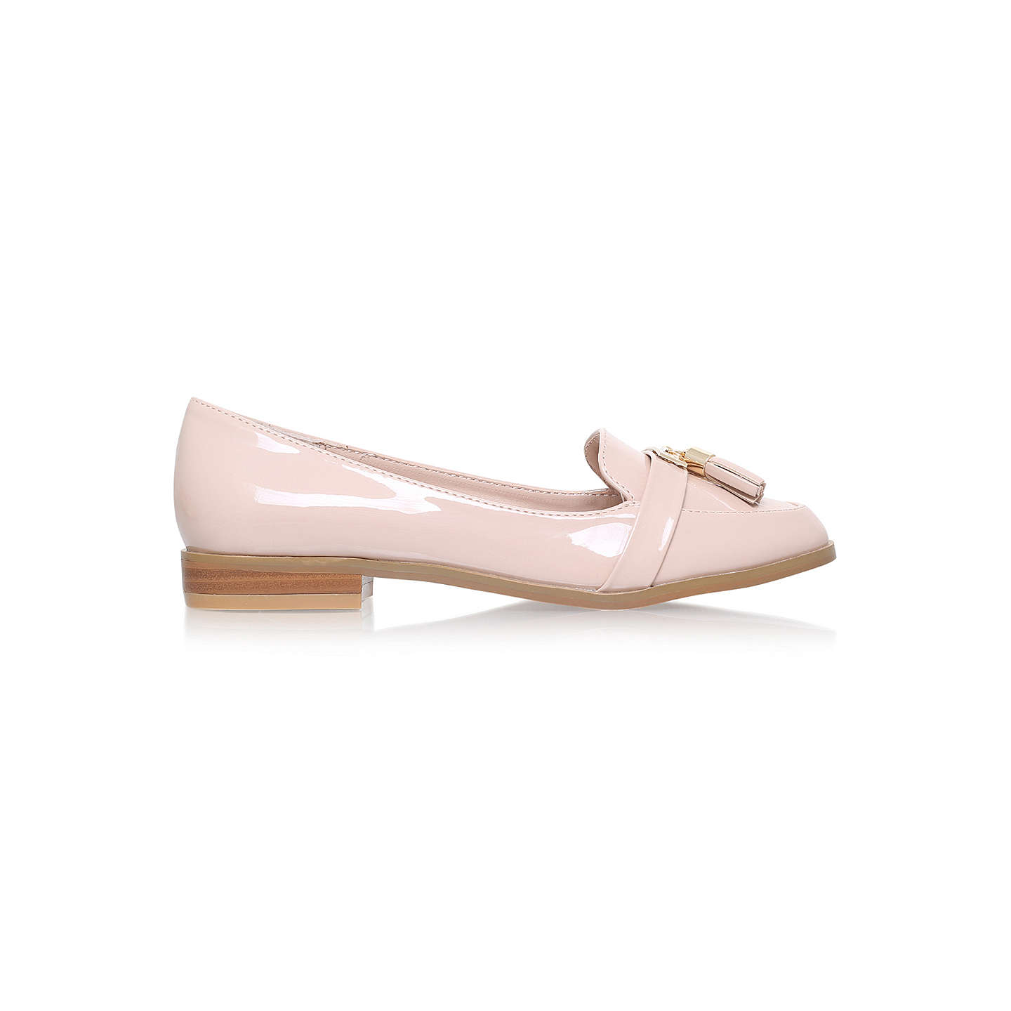 BuyMiss KG Nadia 2 Loafers, Nude, 3 Online at johnlewis.com