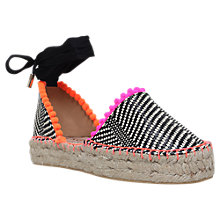 Buy Miss KG Dizzy Flatform Two Part Espadrilles, Multi Online at johnlewis.com