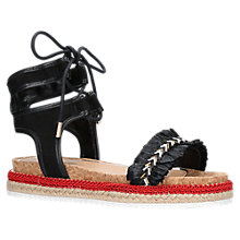 Buy Miss KG Pebble Lace Up Sandals, Multi Online at johnlewis.com