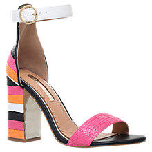 Buy Miss KG Ebony Block Heeled Sandals, Multi/Other Online at johnlewis.com
