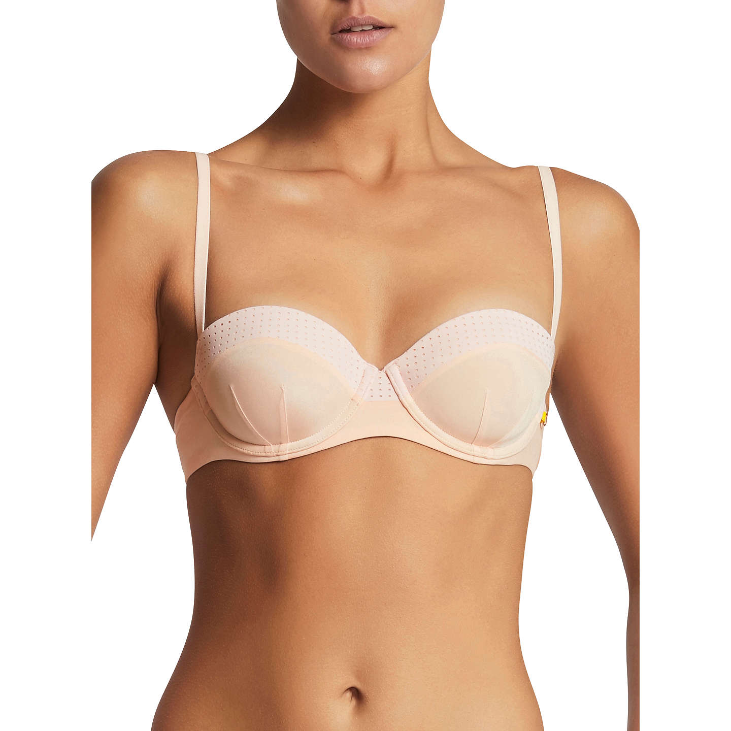 BuyElle Macpherson Body The Body Balconette Bra, Blush, 32B Online at johnlewis.com