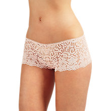 Buy DKNY Classic Lace Boy Shorts, Blush Online at johnlewis.com